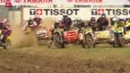 Video «Motocross: Seitenwagen WM-Lauf in Roggenburg» abspielen