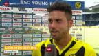 Video «Fussball: Die Stimmen zu YB - St. Gallen» abspielen
