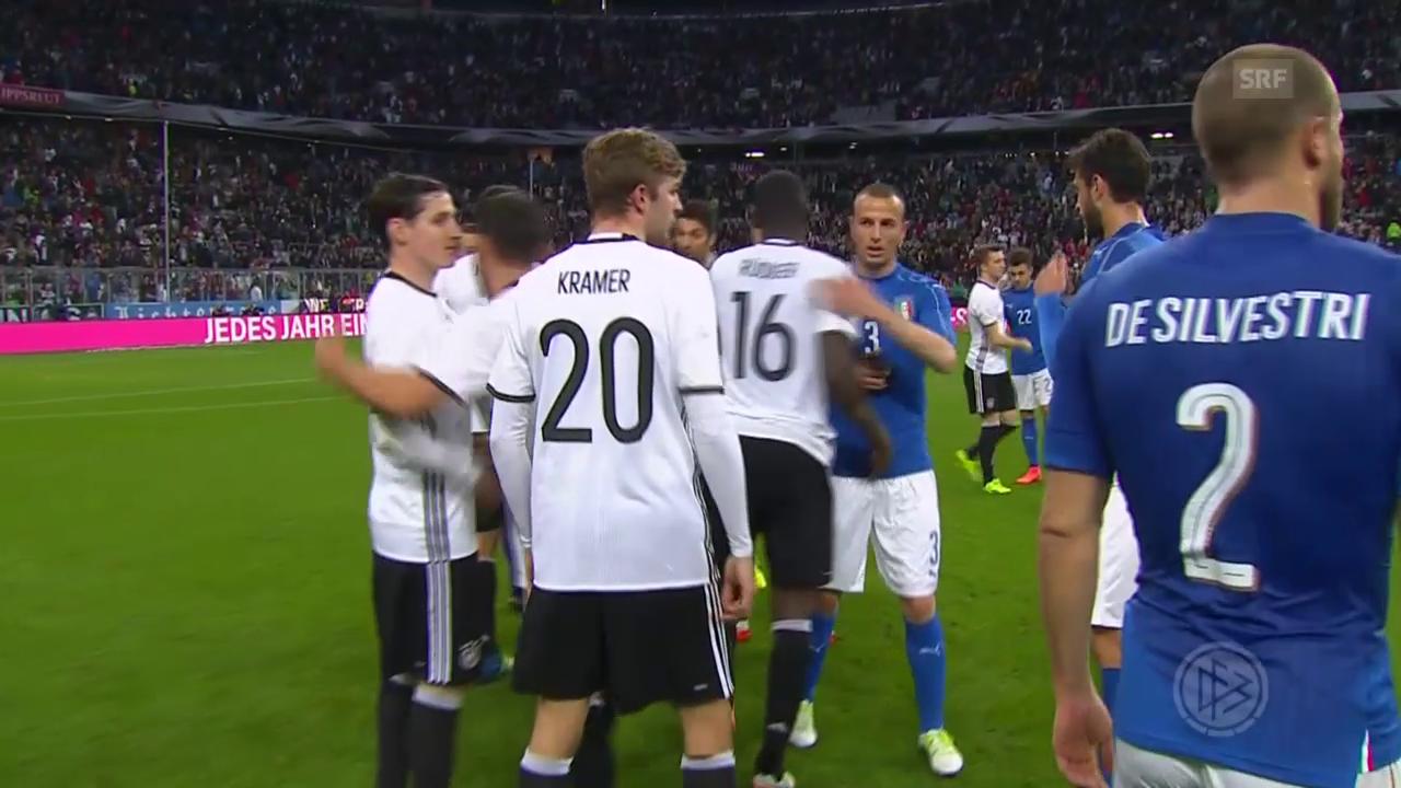 Deutschland deklassiert Italien mit 4:1