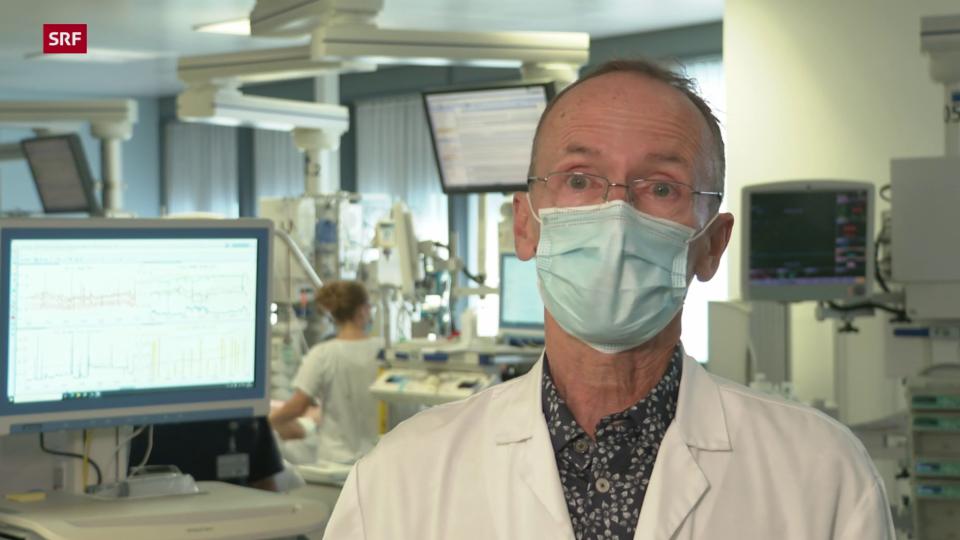 Stephan Jakob, Chefarzt Intensivmedizin Inselspital: «Es ist eine sehr grosse Belastung für die Spitäler»