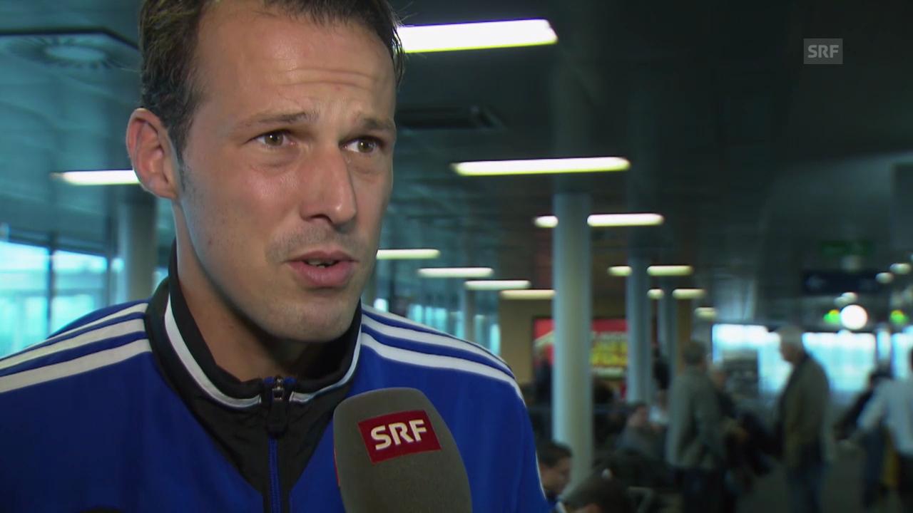 Marco Streller zum Spiel gegen Galati