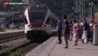 Video «Mehr Pünktlichkeit bei der SBB» abspielen