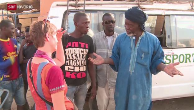 Video «Das Geschäft mit den Flüchtlingen am Beispiel Mali» abspielen