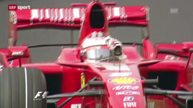 Video «Kimi Räikkönen zurück zu alter Wirkungsstätte» abspielen