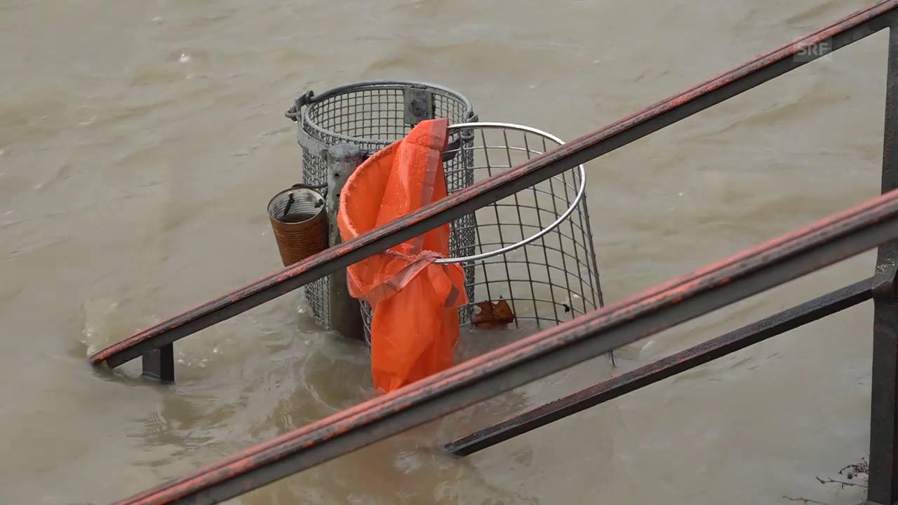 Hochwasser in Basel