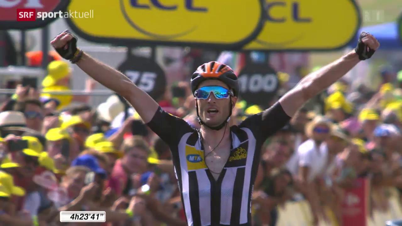 Rad: Tour de France, 14. Etappe von Rodez nach Mende