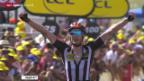 Video «Rad: Tour de France, 14. Etappe von Rodez nach Mende» abspielen