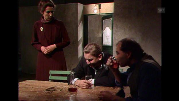 Video ««Männer und Frauen», Ausschnitt aus: «Der Robbenkönig», 19.5.1976» abspielen