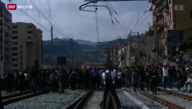Video «Neue Flüchtlingswelle rollt auf die Schweiz zu» abspielen