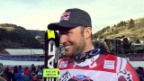 Video «Ski: SG Gröden, Interview Svindal» abspielen