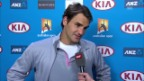 Video «Interview mit Roger Federer» abspielen