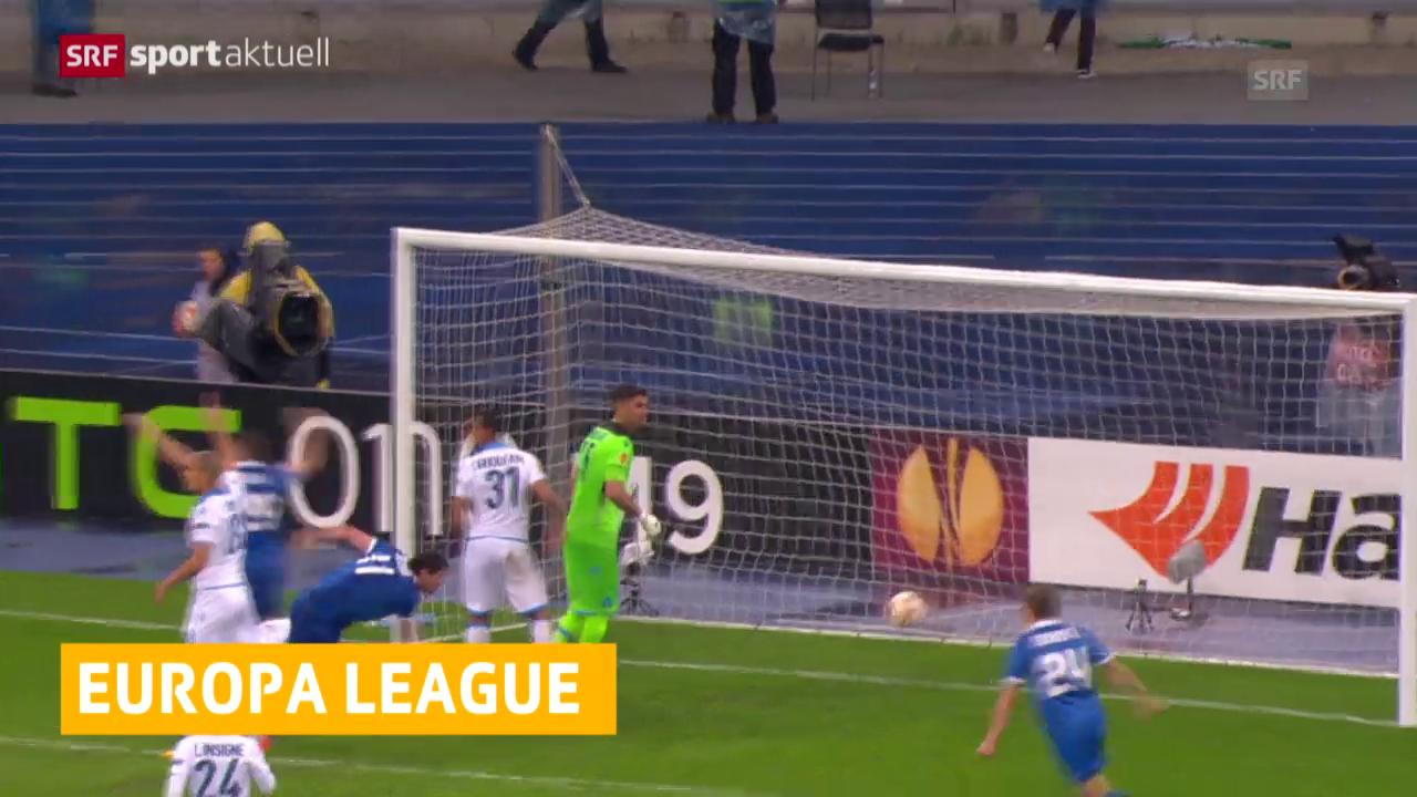 Fussball: Europa League 2014/15, Halbfinal, Dnjepr - Napoli
