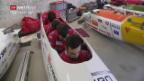 Video «Bracher in beiden Schlitten für Olympia selektioniert» abspielen