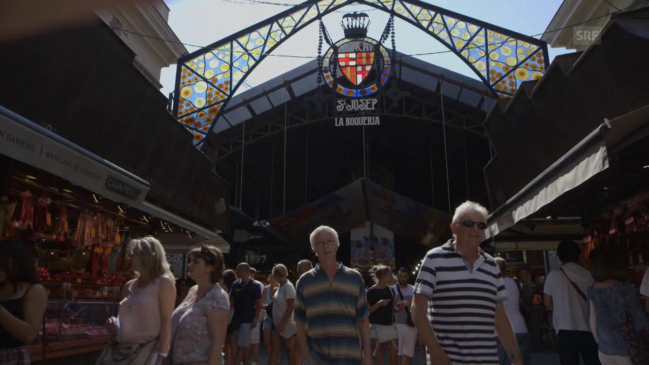 Massentourismus in Barcelona