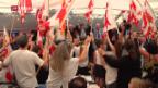 Video «Carles Puigdemont im Kanton Jura» abspielen