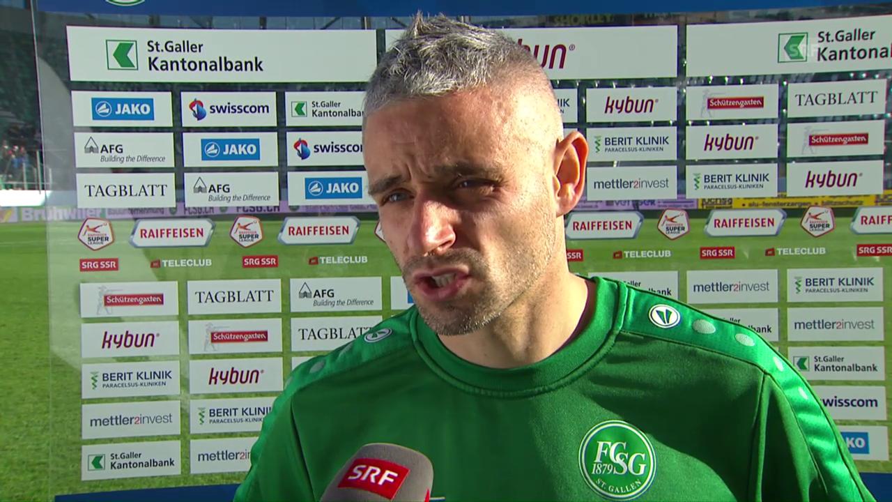 Mario Mutsch: «Es tut mir leid für die Mannschaft»