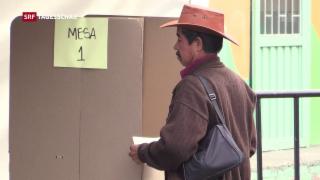 Video «Stichwahl in Kolumbien » abspielen