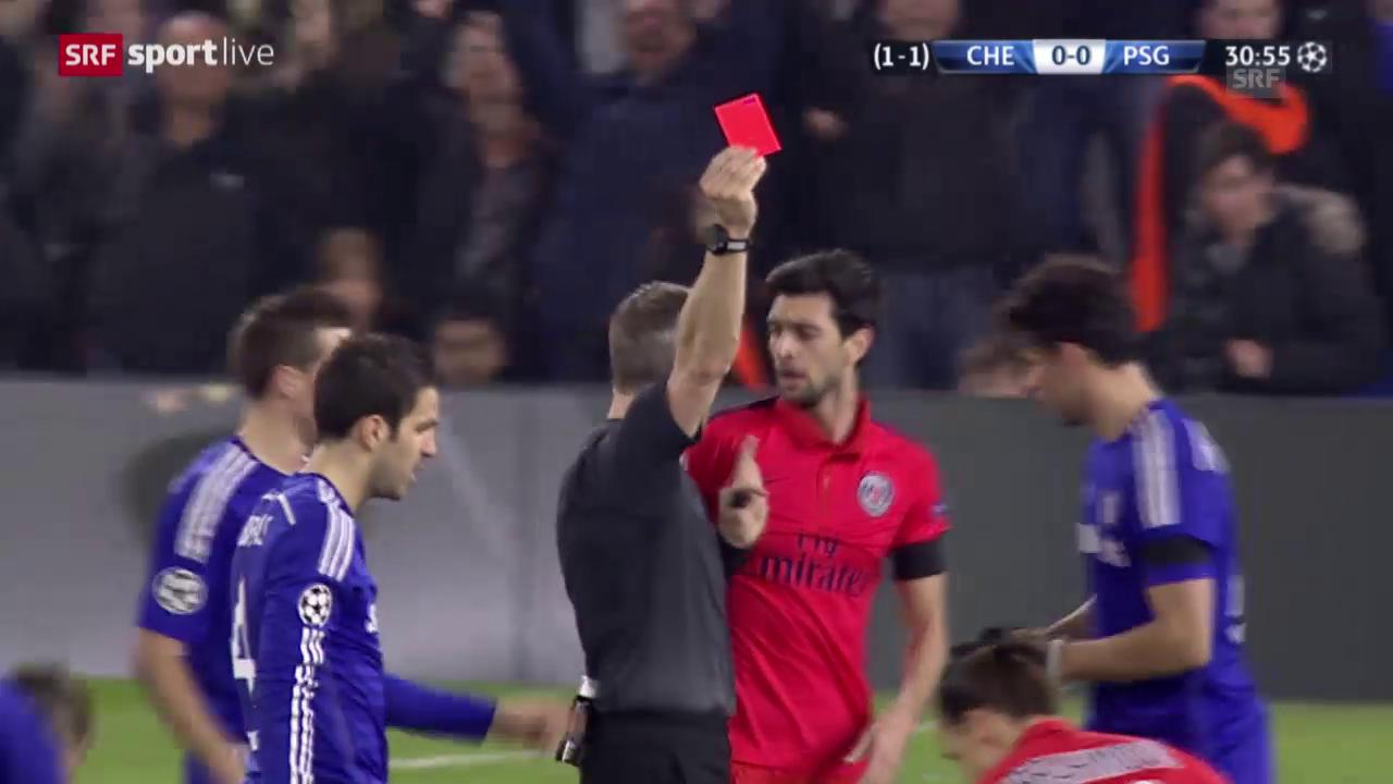 Rote Karte Ibrahimovic