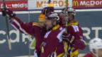 Video «Genf gewinnt Leman-Derby zum Saisonauftakt» abspielen