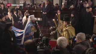Video « Erste eigene orthodoxe Kirche in der Ukraine» abspielen