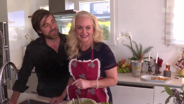 Video «Bei Shawne Fielding und Patrick Schöpf daheim» abspielen