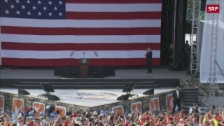 Link öffnet eine Lightbox. Video Trump spricht vor den Pfadfindern abspielen