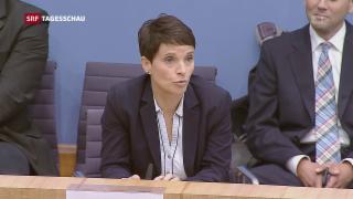 Video «Frauke Petry geht nicht für AfD in den Bundestag» abspielen