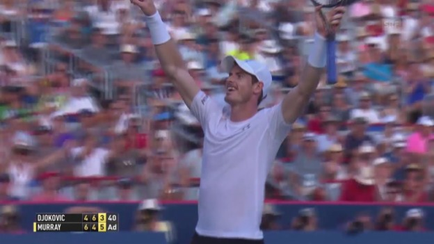 Video «Tennis: Murray-Djokovic» abspielen