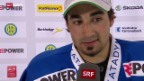 Video «Eishockey: Stimmen zu Davos - ZSC Lions» abspielen