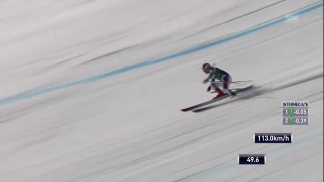 Ski: Fahrt Alice McKennis («sportlive»)