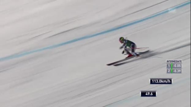 Video «Ski: Fahrt Alice McKennis («sportlive»)» abspielen