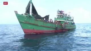 Video «Südostasien: Wieder Flüchtlinge zurückgeschickt» abspielen