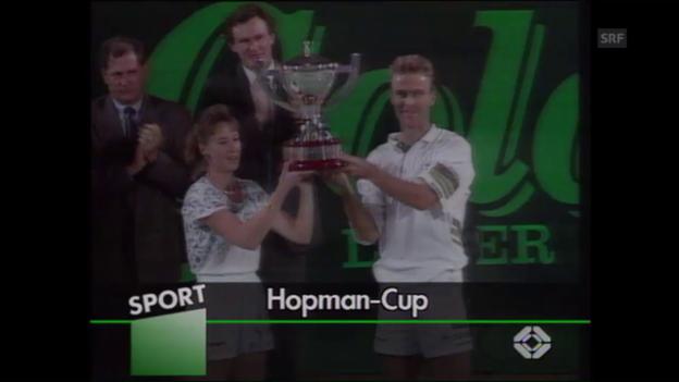 Video «Die Schweizer Siegpremiere beim Hopman Cup 1992» abspielen