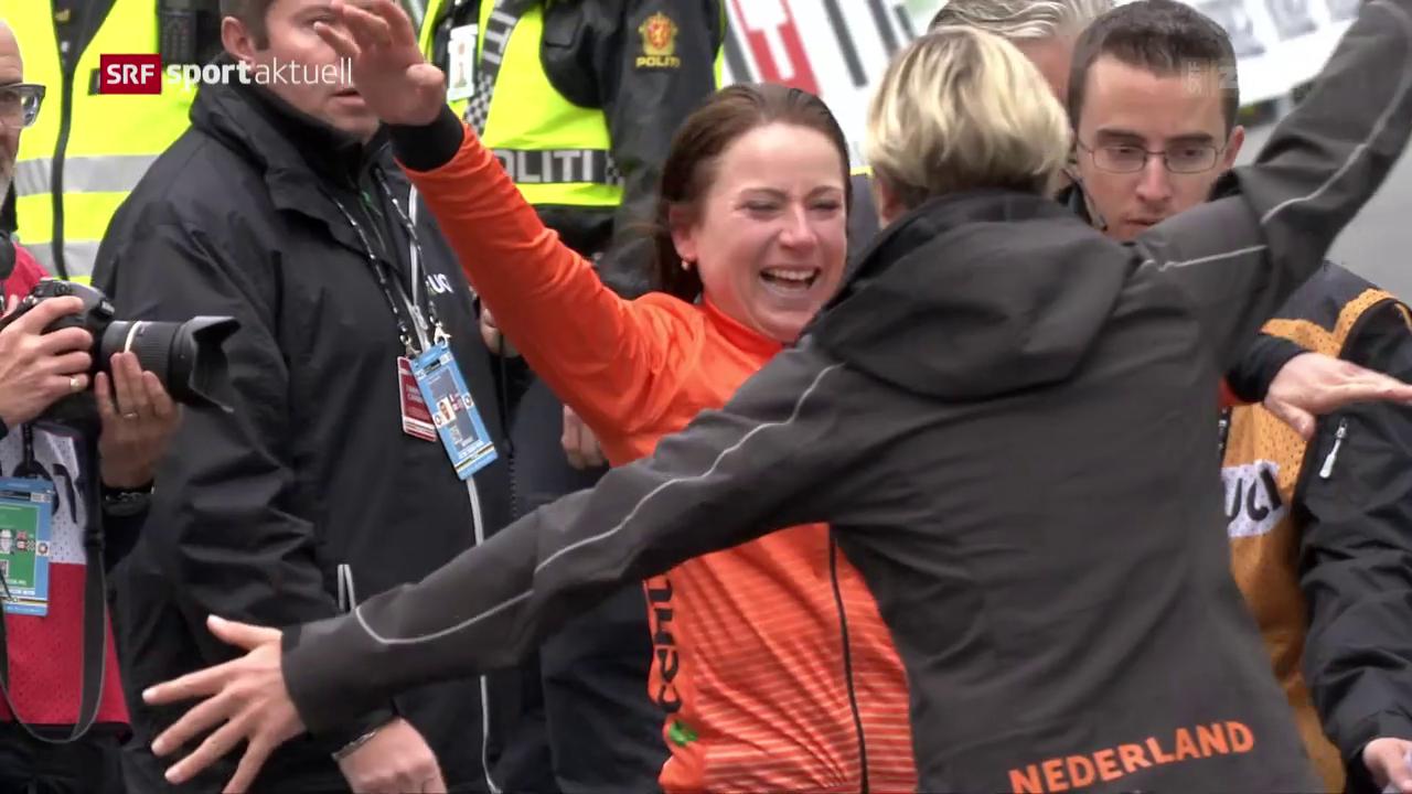 Niederländischer Doppelsieg im WM-Zeitfahren der Frauen