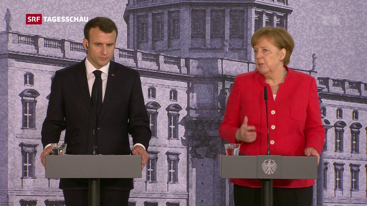 Skepsis über Macrons Reformpläne in Deutschland