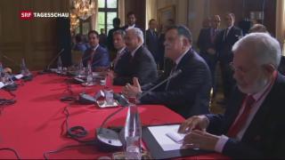 Video «Libysche Friedensgespräche in Paris» abspielen