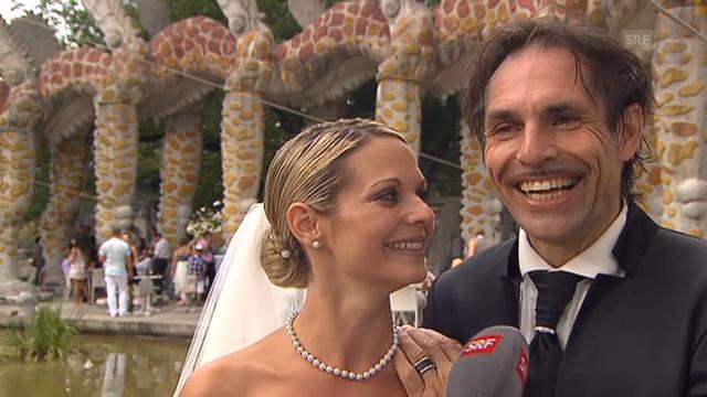 Freddy Nock und Ximena über ihre Hochzeit