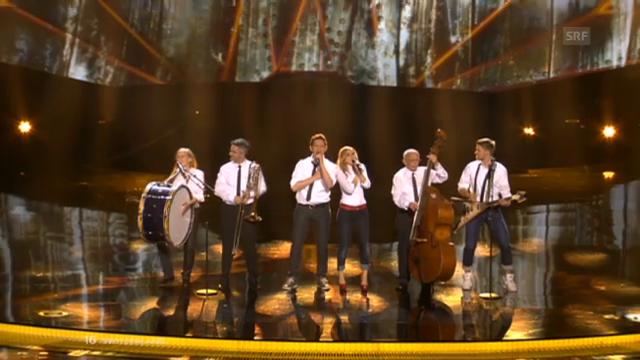 «Takasa» im Halbfinal des Eurovision Song Contest 2013