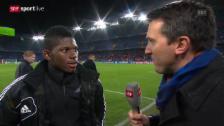Video «Fussball: Breel Embolo im Interview» abspielen