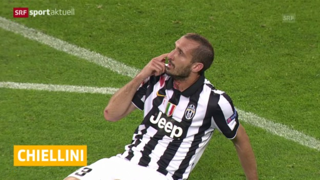 Video «Fussball: Giorgio Chiellini fehlt Juventus im CL-Final» abspielen