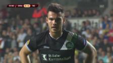 Video «EL: Karanovic verschiesst Elfmeter» abspielen