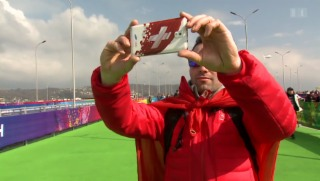 Video «Vom Athleten zum Fan: Olympia-Rodler Gregory Carigiet» abspielen