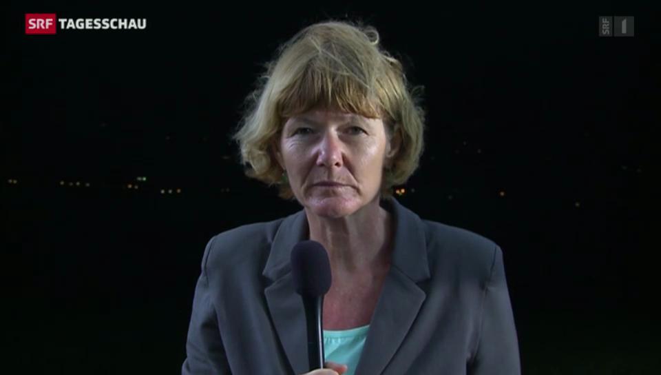 Cristina Karrer über das Begräbnis in Qunu.