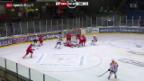 Video «Eishockey: WM-Testspiel Dänemark-Schweiz» abspielen