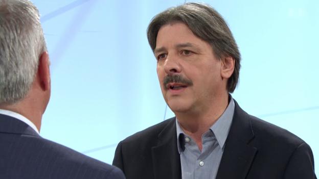 Video «Paul Rechsteiner im Interview zum Ausbau der AHV» abspielen