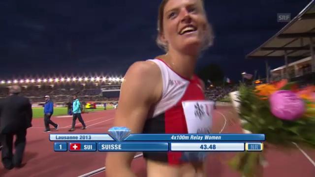 4x100 m Frauen