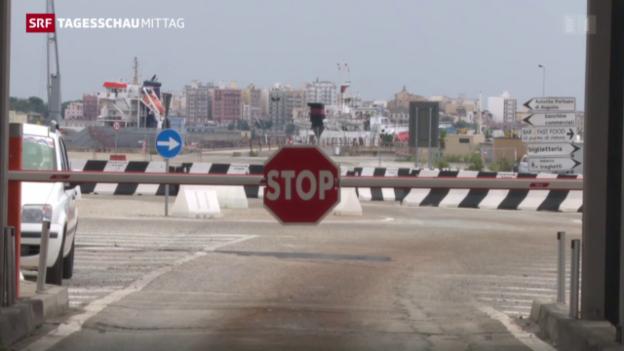 Video «Frontex: Handlungsfreiheit eingeschränkt» abspielen