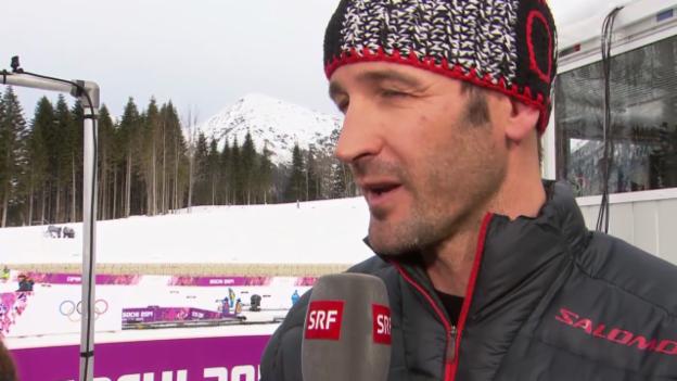 Video «Langlauf: Skiathlon, Gespräch mit Adriano Iseppi (sotschi direkt, 9.2.2014)» abspielen