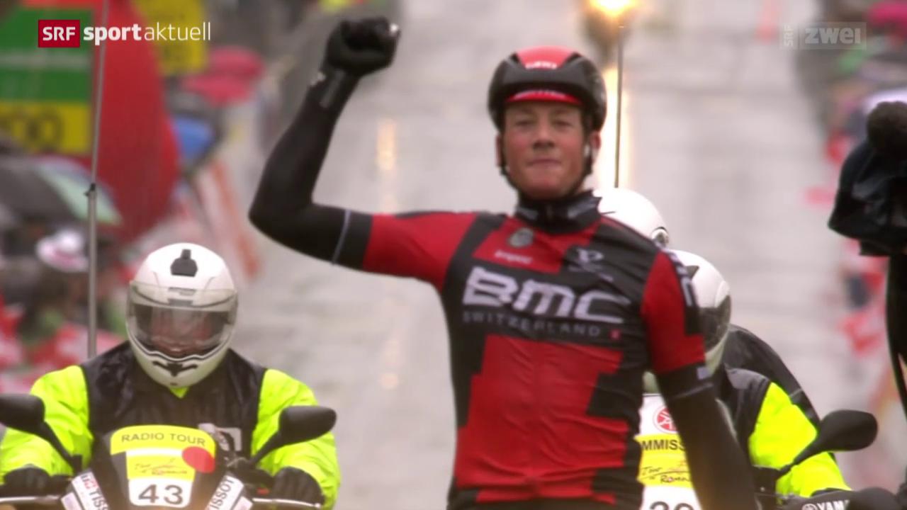 Rad. 4. Etappe der Tour de Romandie