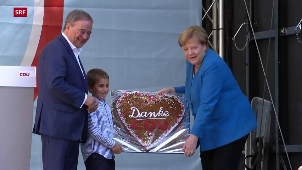 Merkel: «Es geht darum, dass Deutschland stabil bleibt»